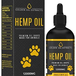 golden oil extracts for dogs and cats 12000mg 50ml natural hemp seed oil drops with liquid omega 3,6 & 9 fish oil infused supplement Golden Oil Extracts for Dogs and Cats 12000mg 50ml Natural Hemp Seed Oil Drops with Liquid Omega 3,6 & 9 Fish Oil… Golden Oil Extracts for Animals 0 300x300