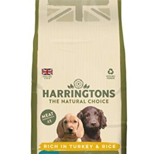 harringtons puppy food Harringtons Complete Dry Puppy Food Rich In Turkey & Rice 2kg, Pack of 4 Harringtons Puppy Food 0 300x300