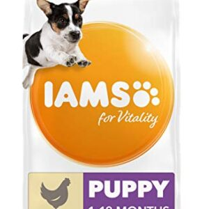 iams for vitality large breed puppy dry dog food IAMS for Vitality Small/Medium Breed Puppy Dry Dog Food with Fresh Chicken, 3 kg IAMS for Vitality Large Breed Puppy Dry Dog Food 0 300x300