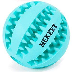 mekeet dog rubber ball MEKEET Dog Toy Ball Dog Treat Toy Ball,Rubber Food Ball Nontoxic Bite Resistant Toy Ball for Pet Dogs Pet Exercise Game… MEKEET DOG RUBBER BALL 0 300x300