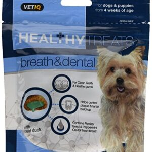 mark & chappell - healthy treats - breath & dental treats for dogs & puppies - 70g Mark & Chappell – Healthy Treats – Breath & Dental Treats For Dogs & Puppies – 70g Mark Chappell Healthy Treats Breath Dental Treats For Dogs Puppies 70g 0 300x300
