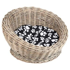 me & my pets circular woven basket bed Me and My Pets Circular Woven Basket Bed Me My Pets Circular Woven Basket Bed 0 300x300