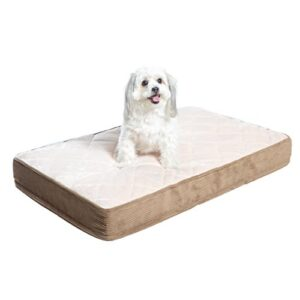 milliard quilted padded orthopedic dog bed/pet bed, egg crate foam with plush pillow top washable cover - fits standard crate - (small) 89cm x 55cm x 10cm Milliard Orthopedic Dog Bed, Quilted Mattress/Pet Bed, Egg Crate Foam with Plush Pillow Top Washable Cover – Fits… Milliard Orthopdisches Stepp HundebettHaustierbett Schaumstoff in Eierkarton Struktur mit waschbarem Bezug fr normalgroe Hundekfige 0 300x300
