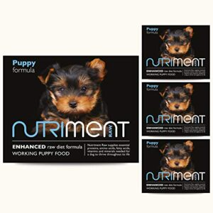 nutriment raw 5kg puppy pack (dog food) 10 x 500g puppy formula NUTRIMENT ENHANCED RAW DIET WORKING PUPPY Raw Food (10 Tray Starter Pack) Frozen, Complete Premium BARF Diet Wet Puppy… Nutriment Raw 5kg Puppy Pack Dog Food 10 x 500g Puppy formula 0 300x300