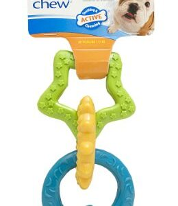 nylabone puppy teething rings Nylabone Gentle Puppy Dog Teething Chew Toy Rings, Bacon Flavour, Small, for Puppies Up to 11 kg Nylabone Puppy Teething Rings 0 260x300