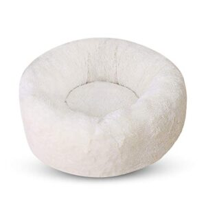 petcute dog beds round cat bed fluffy pet bed donut cat cuddly bed for small animals PETCUTE Dog Bed Cat Bed for Indoor Cats Small Medium Washable Cat Nest Bed Fluffy Warm Puppy Bed Donut for Winter PETCUTE Dog bed Cat bed pet bed puppy Bed nest cat Cuddly Bed for small animals 0 300x300