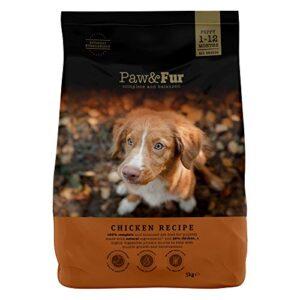 paw&fur - premium dry dog food, puppy dogs, chicken, 10 kg (2 x 5 kg each), complete & balanced Paw&Fur – Premium Dry Dog Food, Puppy Dogs, Chicken, 10 kg (2 x 5 kg each), complete & balanced PawFur Premium Dry Dog Food Puppy Dogs Chicken 10 kg 2 x 5 kg each complete balanced 0 300x300