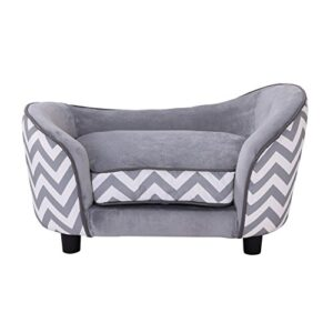 pawhut plush fur dog sofa couch wooden frame deluxe pet sofa lounger cat bed w/cushions (grey) Pawhut D04-072GY Plush Fur Dog Sofa Couch Wooden Frame Deluxe Pet Sofa Lounger Cat Bed w/Cushions (Grey) Pawhut Plush Fur Dog Sofa Couch Wooden Frame Deluxe Pet Sofa Lounger Cat Bed wCushions Grey 0 300x300