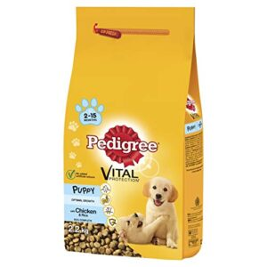 pedigree junior dry dog food for young medium dogs and puppies 2-12 months with chicken and rice Pedigree Junior Dry Dog Food for Young Medium Dogs and Puppies 2-12 Months with Chicken and Rice, 2.2 kg, single unit Pedigree Junior Dry Dog Food for Young Medium Dogs and Puppies 2 12 Months with Chicken and Rice 0 300x300