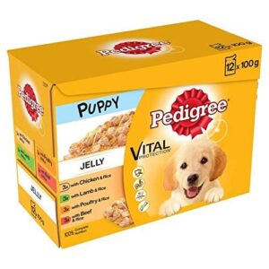 pedigree puppy pouches meat in jelly 12 x 100g Pedigree Puppy Pouches Meat in Jelly 12 x 100g Pedigree Puppy Pouches Meat in Jelly 12 x 100g 0 300x300