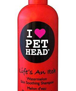 pet head life's an itch skin soothing shampoo, 475 ml Pet Head Life's An Itch Soothing Shampoo, 16.1oz Watermelon, red Pet Head Lifes an Itch Skin Soothing Shampoo 475 ml 0 250x300
