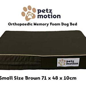 petzmotion premium orthopaedic memory foam dog bed mattress, waterproof liner, washable cover, great for pet arthritis, hip dysplasia etc. (small, brown oxford) Petzmotion Premium Orthopaedic Memory Foam Dog Bed Mattress, Waterproof Liner, Washable Cover, Great for Pet Arthritis… Petzmotion Premium Orthopaedic Memory Foam Dog Bed Mattress Waterproof Liner Washable Cover Great for Pet Arthritis Hip Dysplasia Etc 0 300x300