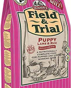 skinner's field & trial complete dry hypoallergenic puppy food lamb and rice, 15 kg Skinner's Field & Trial Puppy Lamb & Rice – Complete Dry Food, Hypoallergenic, Supports Gut Health, Ideal for Larger… Skinners Field Trial Complete Dry Hypoallergenic Puppy Food Lamb and Rice 15 kg 0 243x300