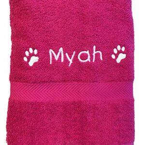 spoilt rotten pets  personalised cosy paw hot travel pet towel for dogs, pink, 36in x 20in Spoilt Rotten Pets Personalised Cosy Paw Hot Travel Pet Towel For Dogs, Pink, 36in x 20in Spoilt Rotten Pets Personalised Cosy Paw Hot Travel Pet Towel For Dogs Pink 36in x 20in 0 300x300