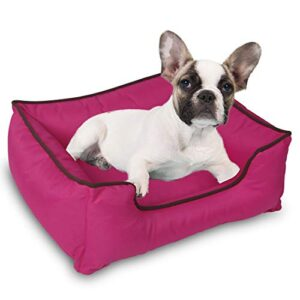 """topone dog bed water resistant for medium & large dogs removable machine washable scratch proof oxford fabric (large(23.6"""" l x 19.7"""" w x 7.9"""" h), rose red) Topone Dog Bed,Pet Lounge Sofa for Dogs and Cats Sleeping Removable &Washable Cover Oxford Fabric Topone Dog BedPet Lounge Sofa for Dogs and Cats SleepingRemovable Washable CoverOxford Fabric 0 300x300"""