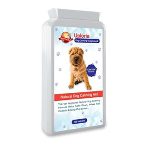 uploria pet world calming tablets for dogs | 120 chicken flavoured tablets | the fast acting anxiety tablets for dogs are a natural de-stress and calming sedatives for dogs | uk manufactured. Uploria Pet World Calming Tablets For Dogs | 120 Chicken Flavour Tablets | UK Manufactured. Uploria Pet World Calming Tablets For Dogs 120 Chicken Flavoured Tablets The Fast Acting Anxiety Tablets For Dogs Are A Natural De Stress And Calming Sedatives For Dogs UK Manufactured 0 300x300