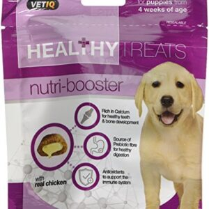 vetiq nutri booster healthy treats with calcium & antioxidants for puppies 50g (pack of 6) VetIQ Nutri Booster Healthy Treats with Calcium & Antioxidants for Puppies 50g (Pack of 6) VetIQ Nutri Booster Healthy Treats with Calcium Antioxidants for Puppies 50g Pack of 6 0 300x300