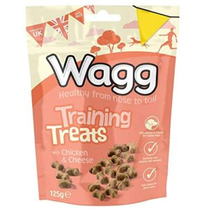 wagg chicken & cheese training dog treats 125g Wagg Chicken & Cheese Training Dog Treats 125g Wagg Chicken Cheese Training Dog Treats 125g 0 300x300