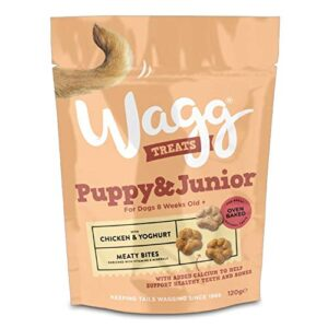 wagg puppy and junior treats with chicken and yoghurt 120gm, deal of 4 Wagg Puppy and Junior Treats with Chicken and Yoghurt 120gm, Deal of 4 Wagg Puppy and Junior Treats with Chicken and Yoghurt 120gm Deal of 4 0 300x300
