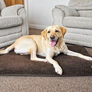 wolfybeds sherpa fleece waterproof padded dog mattress Wolfybeds Sherpa Fleece Waterproof Padded Dog Mattress (Chocolate Brown, Large) Wolfybeds Sherpa Fleece Waterproof Padded Dog Mattress 0 300x300